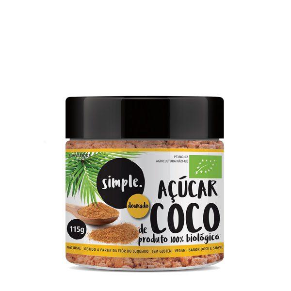 Acucar de Coco Dourado