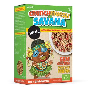 Crunch Muesli da Savana