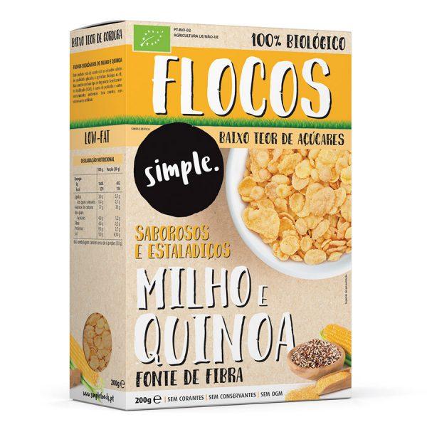 Flocos de Milho e Quinoa
