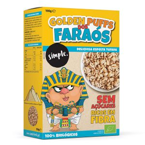 Golden Puffs dos Faraos