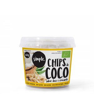 CHIPS DE COCO SABOR DOCE E CROCANTE